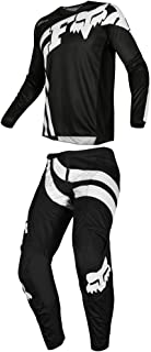 Fox Racing 2019 180 COTA Jersey and Pants Combo Offroad Gear Set Adult Mens Black XL Jersey/Pants 36W