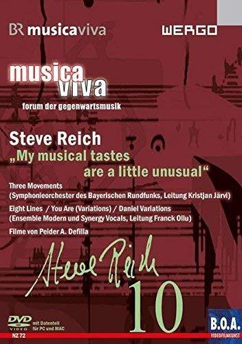 Steve Reich - Musica Viva: My Musical Tastes Are a Little Unusual