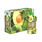 Happy Baby Organic Clearly Crafted Stage 2 Baby Food, Apples, Kale and Avocadoes, 4 Ounce ...