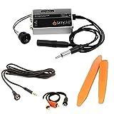 Universal auxiliary audio input PLUS dash mount 3.5mm aux jack PLUS trim removal tools (Bundle: 3 items)