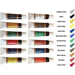 طلاء أكريليك مجموعة 12 من الحرف اليدوية