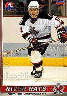 (CI) Brian Gionta Hockey Card 2001-02 Albany River Rats 11 Brian Gionta