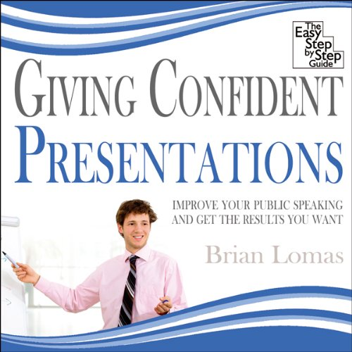 Giving Confident Presentations audiobook cover art