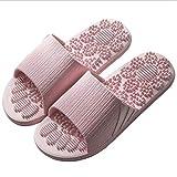 Veluckin Pantofole da Uomo Pantofole da Donna Ciabatte da Interno Ciabatte da Doccia Sandali Estivi, Rosa,36/37EU
