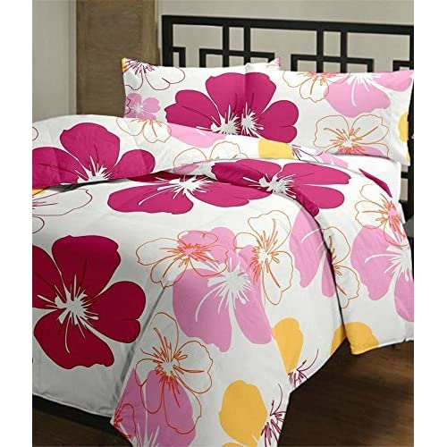 JaipurCrafts WebelKart Designer Collection Floral Ac Microfiber Blanket (Single Bed)