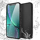 New iPhone Waterproof Case, AICase IPX-6 Water Resistant [360 All Round Protective] Ultra Slim Thin Light Shock/Dust/Snow Proof Built-in Screen Protector Compatible Apple iPhone (Xs Max, Black)
