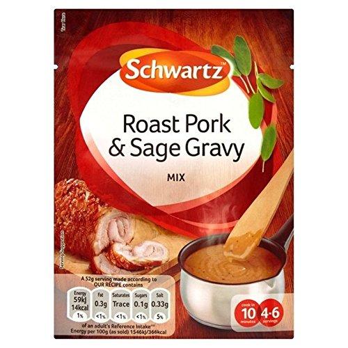 Schwartz Schweinefleisch & Salbei Sauce Sachet 25G (Packung von 2)