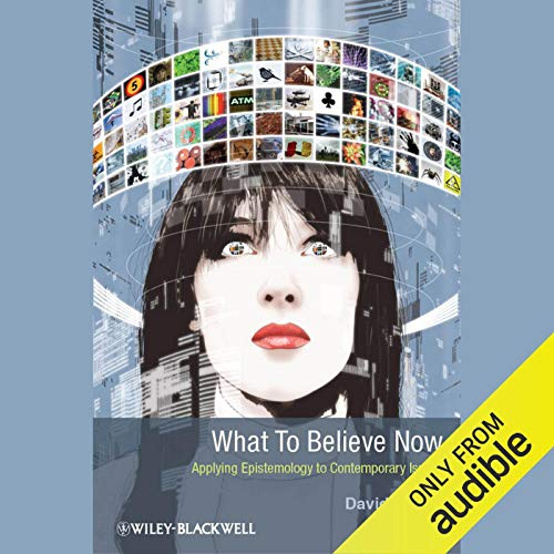 What to Believe Now copertina