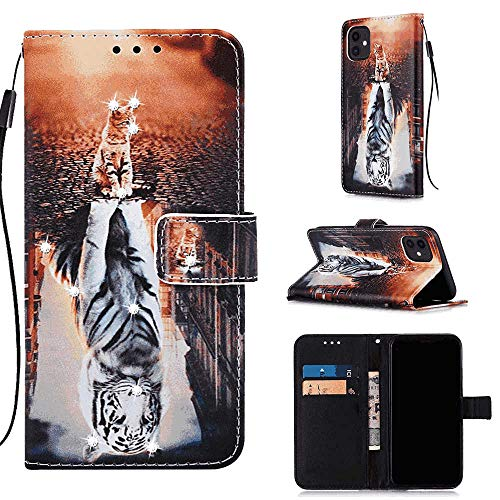 Leather Cover Compatible with iPhone XR, Strong Wallet Case for iPhone XR