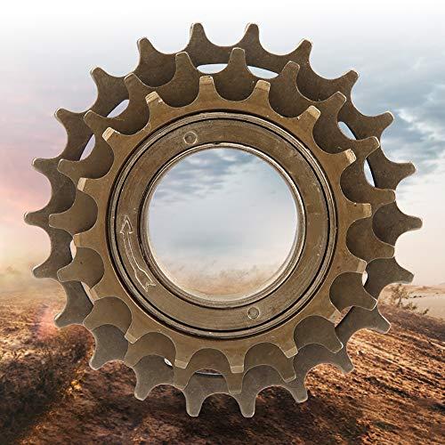 【𝐕𝐞𝐧𝐭𝐚 𝐏𝐫𝐢𝐦𝐚𝒗𝐞𝐫𝐚】 Robusto y Duradero Alta confiabilidad Rendimiento Estable Rueda de inercia de Metal de 3 velocidades, Rueda Libre, para Bicicleta de Carretera de montaña
