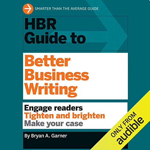 Couverture de HBR Guide to Better Business Writing