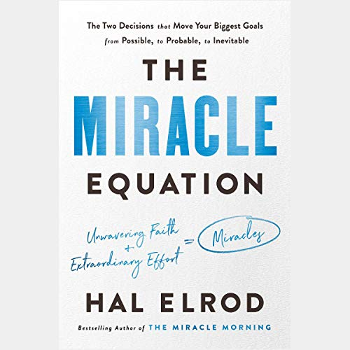 The Miracle Equation audiobook cover art