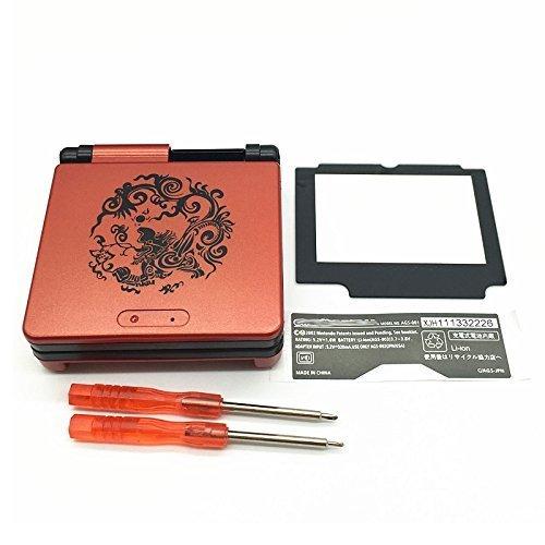 Ricambio Gba SP Gameboy Advance SP alloggiamento pieno di Shell con schermo lente cacciavite