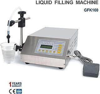 Sumeve Liquid Filling Machine Automatic Digital Control Bottle Filler(2-3500ml Digital Filling GFK160)