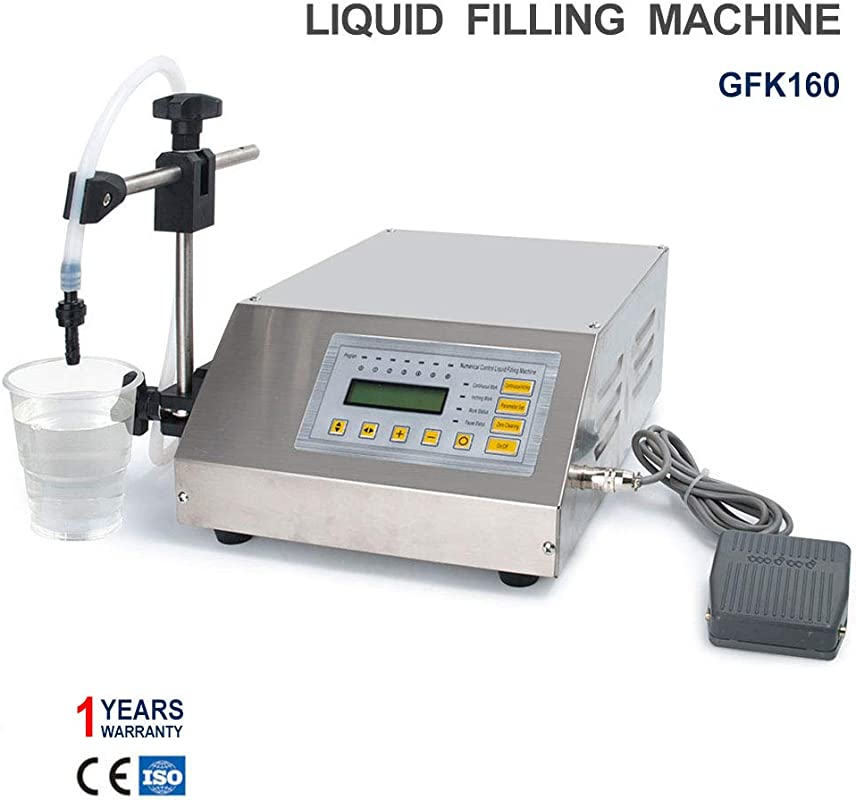 Sumeve Liquid Filling Machine Automatic Digital Control Bottle Filler 2 3500ml Digital Filling GFK160