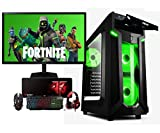Megamania PC e-game AMD Ryzen 5 3400G, Ordenador de sobremesa 4.2GHz Turbo Quad Core | 16GB DDR4 | SSD 480GB + RW DVD | Gráfica AMD Radeon Vega RX 11 + Monitor LED FullHD 22' + Kit Gaming ratón Regalo
