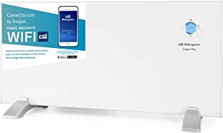 Orbegozo REW 1500 - Panel radiante digital Wi-Fi, 1500 W, pantalla digital LCD, programable, conexión inalámbrica mediante...