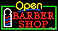 Barber Shop Open手作りエネルギー効率的なGlasstube Neon Signs
