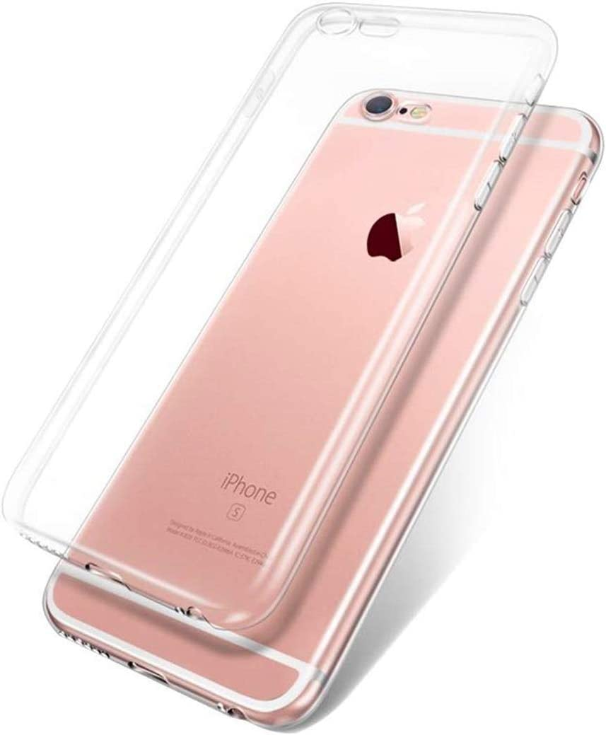 Universal iphone7 & iphone8 Four Corner Mobile Phone case Military Anti-Fall Transparent Silicone Sleeve