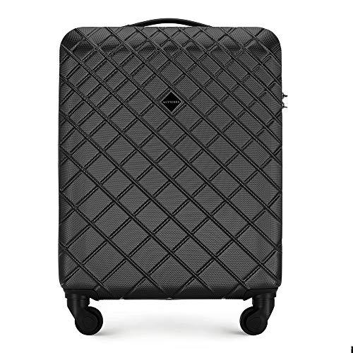 WITTCHEN Classic Luggage- Carry-On Luggage, S(55x40x20), Schwarz