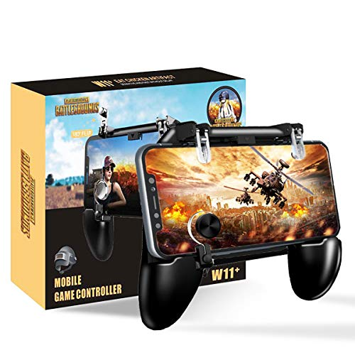 Bestzy PUBG Mobiele game controller - PUBG mobiele telefoon controller mobiele gaming triggers mobiele telefoon gamepad joystick telefoonhouder, W11+