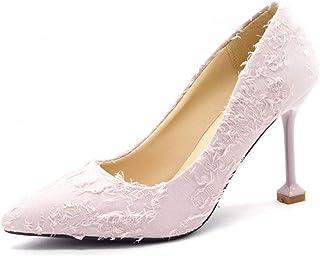 通用 Hebang Women High Heel Shoes Fashion Pull-on 8 cm for Dress 34-40