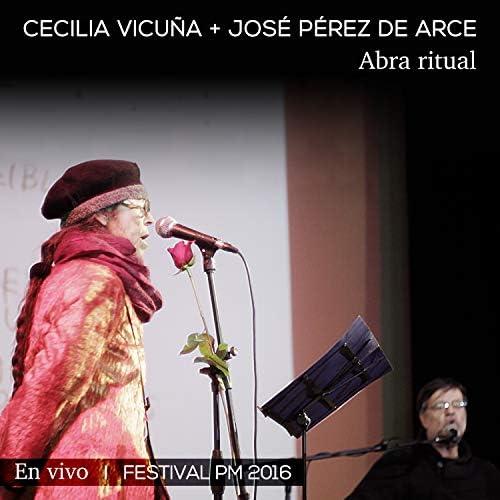 Cecilia Vicuña y José Pérez de Arce
