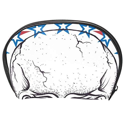 TIZORAX Sac à main de voyage avec motif de crâne Motif crâne d'Afrique