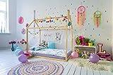 Montessori casa de la cama. Se incluyen listones de madera. (190x135cm)