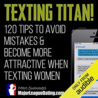 Texting Titan! audiobook cover art