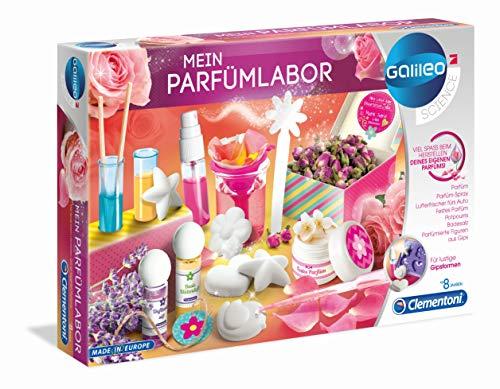 Clementoni 59070 Galileo Science – Mein Parfümlabor, wohlriechende Düfte und Parfüms, spannender Experimentierkasten für Zuhause, Spielzeug für Kinder ab 8 Jahren, als Ostergeschenk