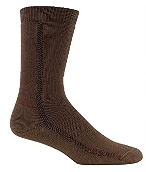 Farm to Feet Jacksonville Midweight Boot Merino Wool Socks Coyote Brown Small