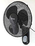 Ardes AR5W40R PARETO COOL RC Ventilatore Oscillante a Parete Pala 40 Cm, con Telecomando,...