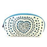 Monedero zip 'Agatha Ruiz De La Prada'azul blanco (barniz).