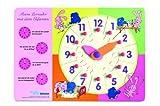 Elefant Puzzle-Lernuhr