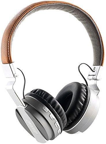 auvisio ZX1572 Faltbares On-Ear-Headset mit Bluetooth, Steuertasten, MP3-Player,Radio (Stereokopfhörer), Mehrfarbig