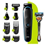 Braun 9-in-1 All-in-one Trimmer 5 MGK5280, Beard Trimmer for Men, Hair Clipper