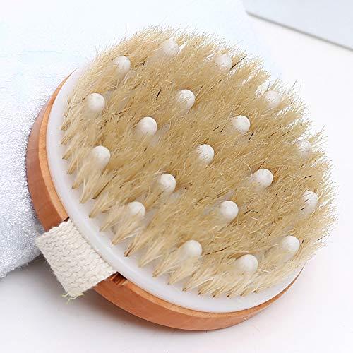 Brosse de massage pour les mains avec perles de massage en caoutchouc Brosse de massage pour la maison