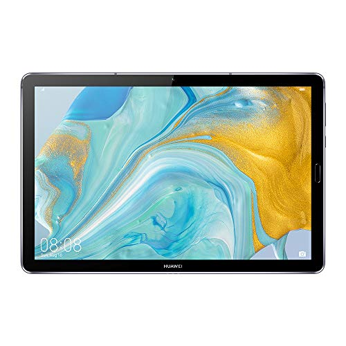 "Huawei MediaPad M6 - Tablet 10.8"" con Pantalla 2K de 2560 x 1600 IPS (WiFi, RAM de 4GB, ROM de 64GB, Kirin 980, EMUI 10) Color Gris Titanio"