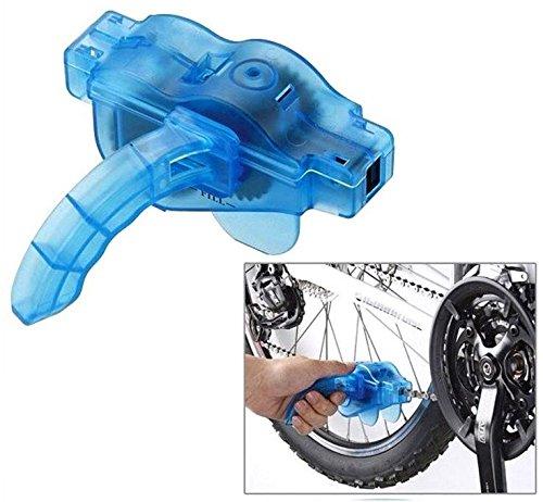 HUKITECH Fahrrad Kettenreinigungsgerät Fahrradkettenreiniger - Professionelle Kettenreinigung für Fahrradketten - Ketten Reinigung Gerät Reiniger Reinigungsgerät