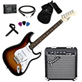 FENDER Squier Stratocaster SB HSS Kit Chitarra...