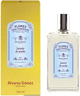 Álvarez Gómez Flores Mediterráneas Jazmín de Noche Agua de Colonia Frasco de 150 ml