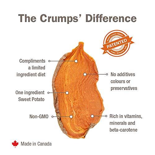 Crumps' Naturals Sweet Potato Chews For Pets, 24-Ounce