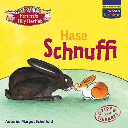 Hase Schnuffi audiobook cover art