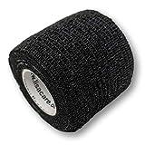 LisaCare Kohäsive Wickel Bandage Selbsthaftendes Pflaster 2er Set 5 cm Fixierband schwarz