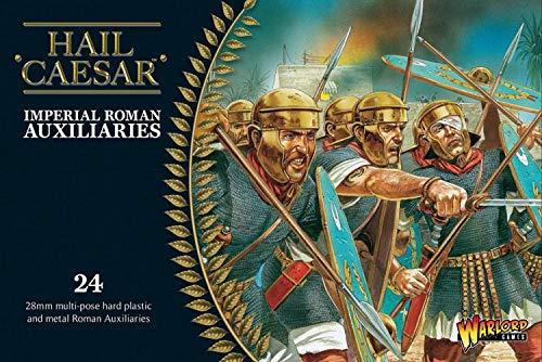 Kaiserliche römische Hilfsmittel - Hagel Caesar - 24x Plastik 28mm Miniaturen