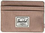 Herschel mens Charlie Rfid Card Case Wallet, Ash Rose, One Size US