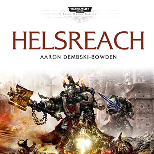 Helsreach: Warhammer 40,000 audiobook cover art