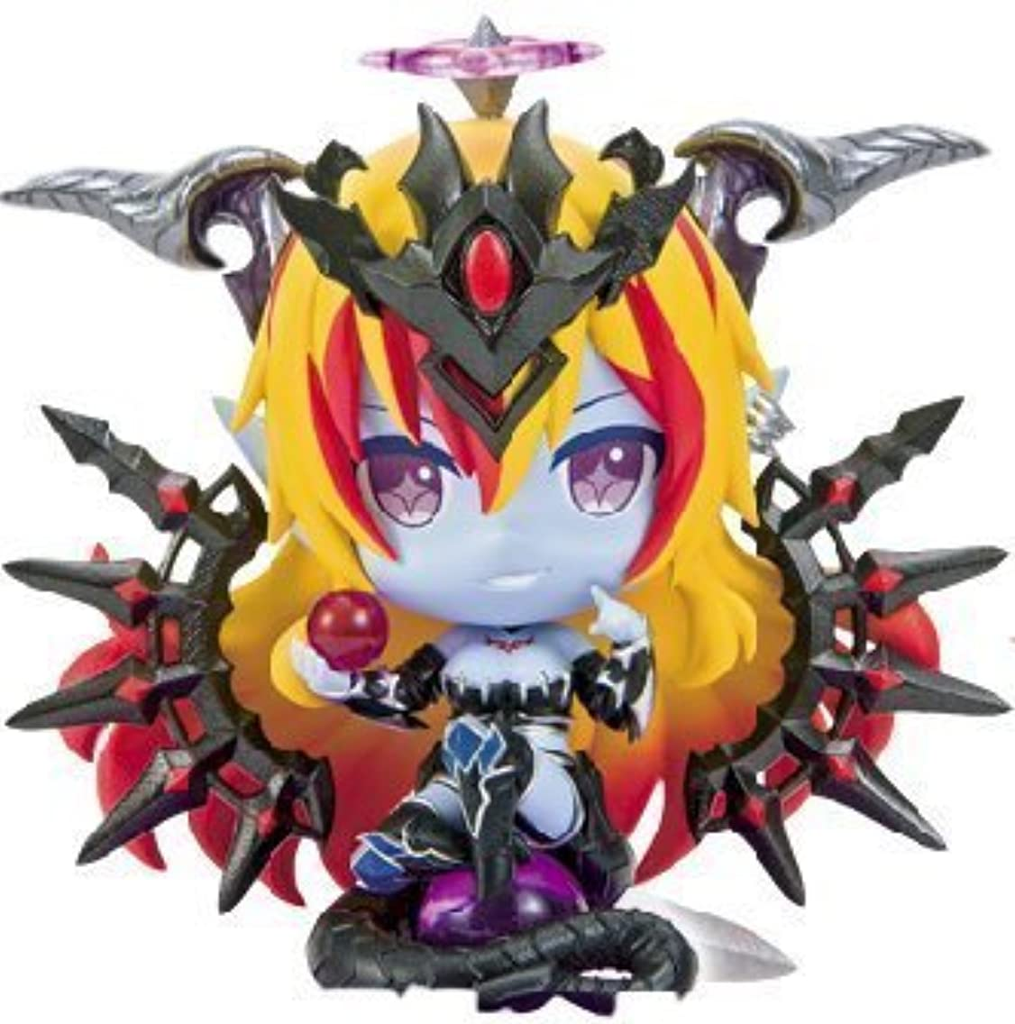 Puzzle & Dragons Divine Queen Hera Pugyutto Chibi Figure Collection Vol.6 Mini Pugycolle Character and PAD PND P&D DQ
