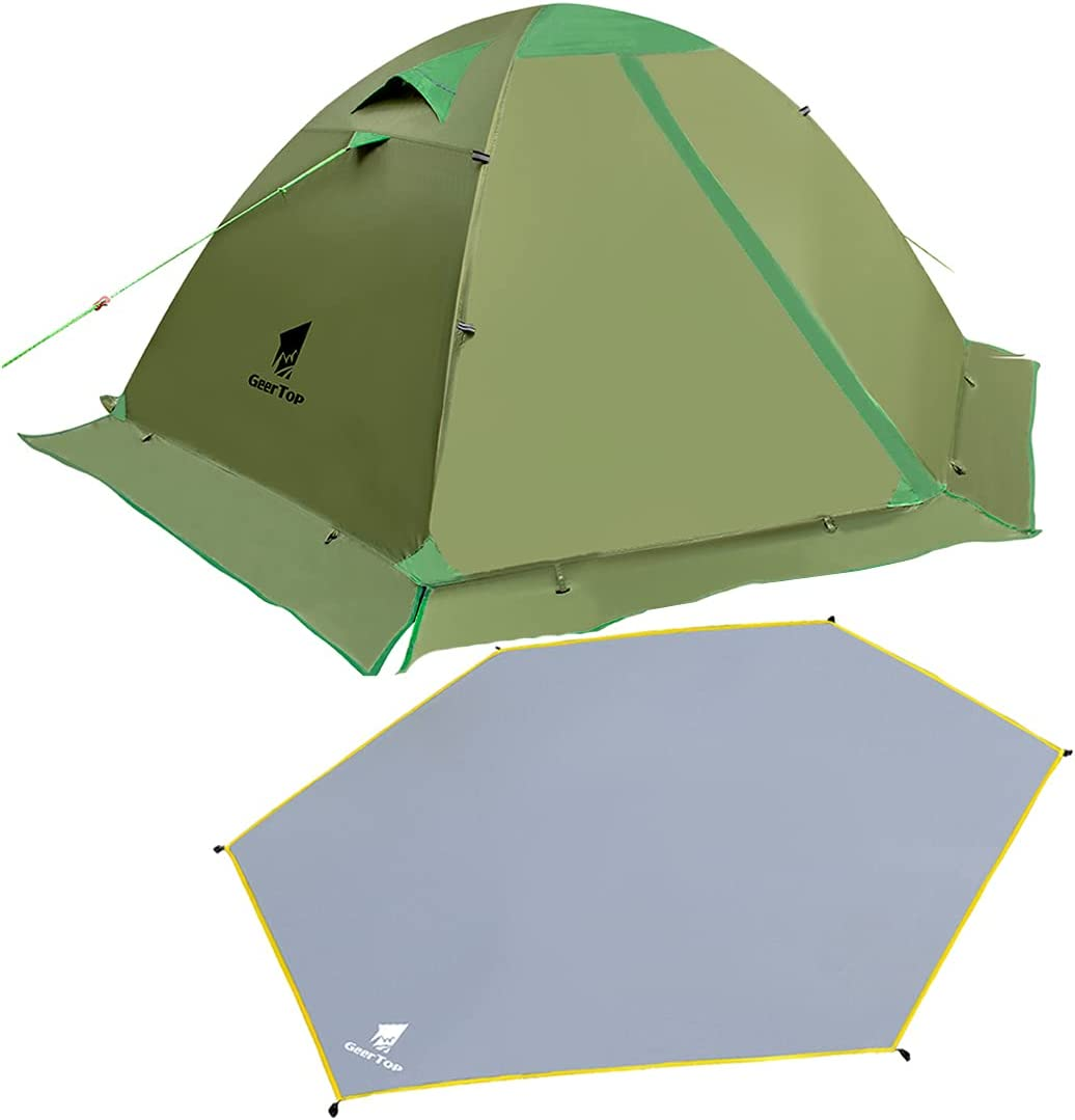 GEERTOP 100% quality warranty! 2 Person Tent Kit Backpacking Camping Ult Many popular brands for with